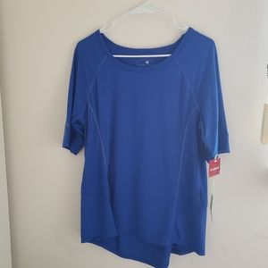 Tangerine  blue cobalt  top